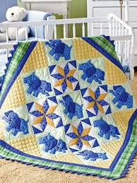 256 best ANIMALS OF ALL KINDS QUILTS images on Pinterest | Pointe ... & Quilting - Patterns for Children & Babies - Animal Quilt Patterns -  Starring Elephants Adamdwight.com