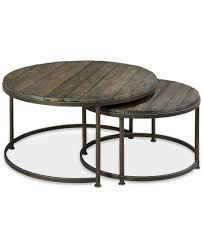 furniture round contemporary nesting coffee table scandinavian furniture nest table as side end table 2
