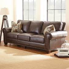 escher leather sofa