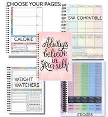 Food Diary Slimming World Useable Weight Loss Log Tracker Planner