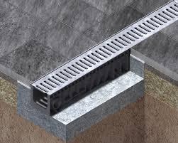 Concrete Trench Drain Design Plastic Trench Drains Hydro Ulma Drainage Channels