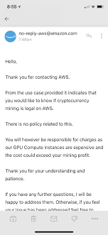 Go to the binance registration page. Mining Crypto On Amazon Solved Aws
