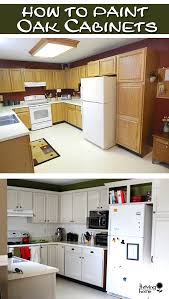 Painted Oak Cabinets Painting Oak Cabinets Thriving Home