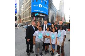 sleep number rings nasdaq bell launches youth sleep initiative