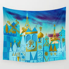 it s a small world wall tapestry by