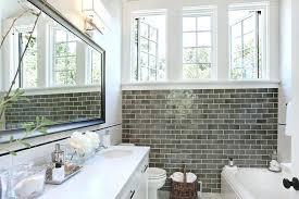 modern bathroom subway tile. Modern Bathroom Showers Gray Subway Tile Contemporary With Bathtub Classic