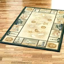 nautical area rugs coastal themed touch of rug for nursery naut