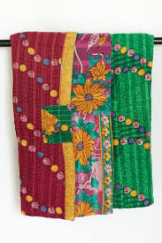 Kantha Quilts, Throw Blankets, Bedspreads, & Baby Blankets | dignify & Kantha Throw Quilt Adamdwight.com