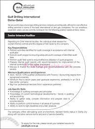 Senior Internal Auditor Resume Online Builder Curriculum Vitae