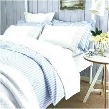 ticking stripe comforter quilted bedding blue light duvet cover navy and white striped linen bedd