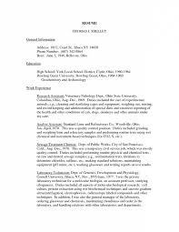 Resume Laboratory Animal Technician Cover Letter Best Inspiration