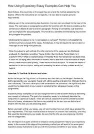 an example of expository essay tk an example of expository essay