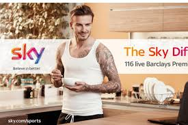 """Sky Sports """"meet the Beckhams"""" by Brothers and Sisters"""