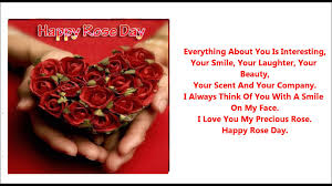 Rose Day Msg For Husband Happy Rose Day Quotes Status Sms In Hindi