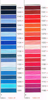Madeira Embroidery Thread Colour Chart 77 You Will Love Madeira Classic 40 Colour Chart