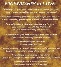 Love And Friendship Quotes Inspiration Some Pieces Of My Heart Differences Between Love And Friendship