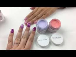 Peppi Gel How To Apply Dip Powder Nails W Layering Colors