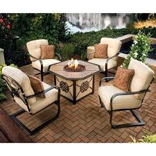 gas patio table. fire pit table and chairs interior elegant patio furniture with gas regarding set sams club n