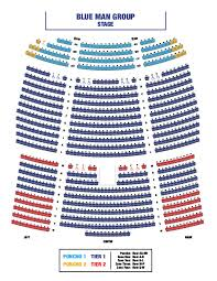 Blue Man Group Nyc Seating Chart 73 Valid Blue Man Group Boston Seating Chart