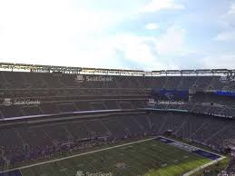 Giants Stadium Virtual Seating Chart Best Picture Of Chart