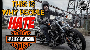 this is why people hate harley davidson motorcycles youtube