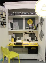 home office armoire. Home Office Ideas: Conceal It In An Armoire | Decorating Files Decoratingfiles.com O
