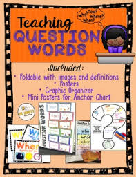 Anchor Charts The Five Ws Worksheets Teaching Resources Tpt