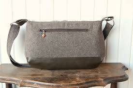 Messenger Bag Pattern Mesmerizing The Magnolia Mini Messenger PDF Sewing Pattern Blue Calla Patterns