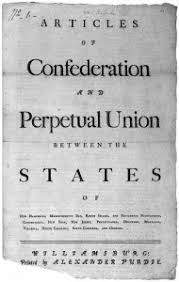 The Articles Of Confederation The First Constitution Of The