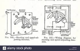 rheostat 110 volt wiring diagram wiring library electrical machinery 1917 starter rheostat stock image