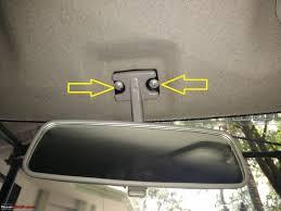 diy install auto dimming irvm anti glare orvms 1