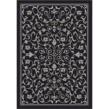 nice safavieh courtyard rug heirloom gate black sand indoor outdoor