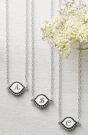 memoir initial necklace initial