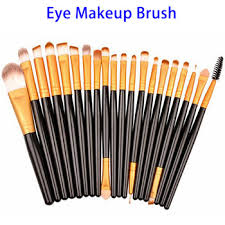 professional custom logo 20pcs cosmetic makeup brush set best eyeshadow brush