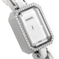 chanel watches for women. chanel premiére white diamond ladies watches replica2 for women