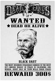Image result for stagecoach robber black bart
