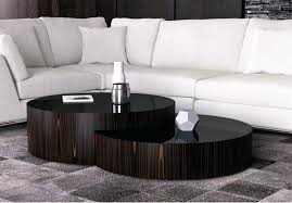 contemporary round nesting coffee table tables canada