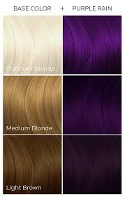 Arctic Fox Hair Dye Colour Chart Arctic Fox 100 Vegan Purple Rain Semi Permanent Hair Dye Colour 118ml