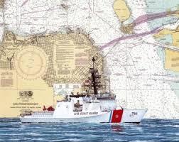 Coast Guard Chart Art Cg1 A Page 14 Chart Art Prints