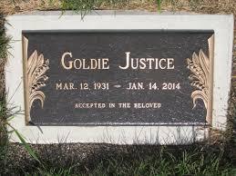 Goldie Justice (1931-2014) - Find A Grave Memorial