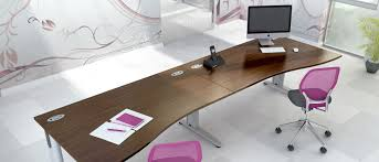 birch office furniture. with discreet cable management our optima angled and wave desks are available in a number of finishes including beech birch white oak office furniture