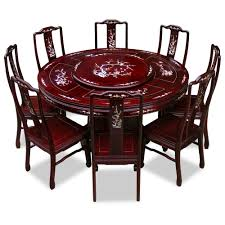 dining table chinese rosewood round dining table round dining table with chairs uk