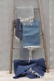 hand woven cotton mediterranean coast rug throw