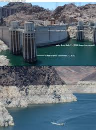 Lake Powell Water Level Chart Western Drought Brings Lake Mead To Lowest Level Since It