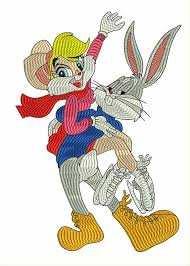 Bugs Bunny Embroidery Designs