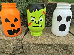 Cute Jar Decorating Ideas Scary Handmade Halloween Mason Jar Decorations With Lots of DIY Ideas 95