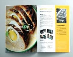 Homemade Cookbook Template Food Brochure Template Hannahjeanne Me