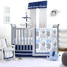 peanuts baby nursery little peanut navy crib bedding set theme pottery barn kids sets view larger