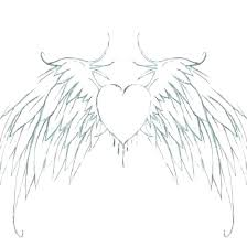 Coloring Pages Of Hearts With Wings Fashionadvisorinfo
