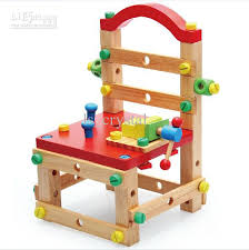 multi function removable wooden chair creative building blocks wooden toys baby color educational assembly stool kids toys and xd171 removable wooden